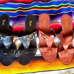 BASS-TIA ♡ Ladies Summer Slip-on Heel